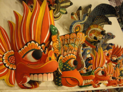 Traditional Sri Lankan Masks